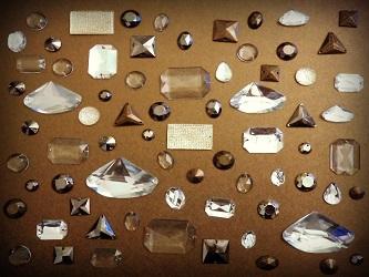 Ναϋλον - Μεταλλικές πέτρες